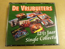 2-CD BOX / DE VRIJBUITERS - 12 1/2 JAAR SINGLE COLLECTIE