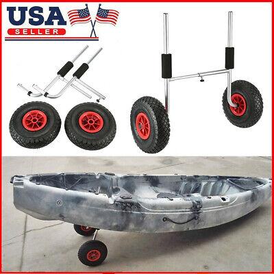 50KG Loading Capacity Detachable Kayak Trolley Energy-Saving Carrier Cart M3J3