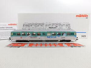 CR781-1# Märklin H0/AC 3429 Triebwagen Nokia ABD DB KK Delta/digital, NEUW+(OVP)