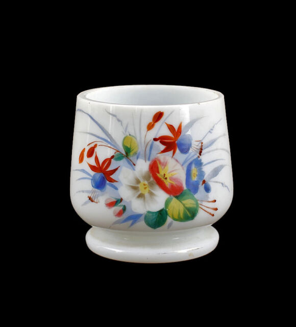 Frosted glass Vase Art Deco opaque Glas Email painting 99835272
