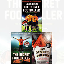 Secret Footballer Collection 3 Books Set, Lifting the Lid on the Beautiful Game