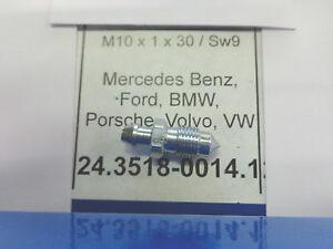 24351800151 VITE SPURGO FRENI M10 X 1 X 36 SW11  bleeding screw MERCEDES MAN  VW