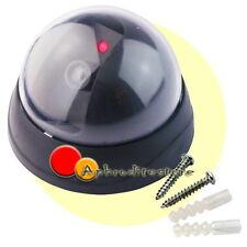 Finta Telecamera Dome Soffitto Videosorveglianza LED Lampeggiante Ufficio Negozi