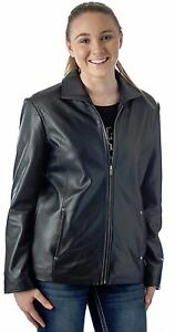 depuis Genuine Reed po véritable Coat pour femmes Classic Soft en Reed 1950 cuir manteau 1950 Veste 26 de Leather Since Douel Jacket classique w7nRq