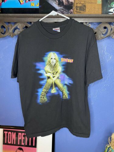 Vintage Britney Spears T Shirt 2001 The Britney T… - image 1