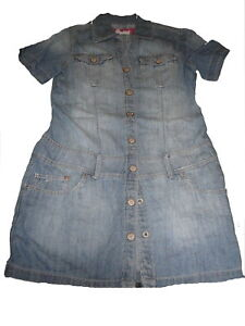 größter Rabatt harmonische Farben Sportschuhe Details zu H & M schönes Jeans Kleid Gr. 146!!