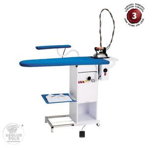 EOLO Table Repasser Aspirante Centrale Vapeur Fer Professionnel Jeannette TS03