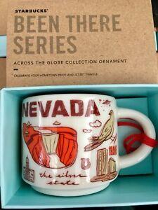 Starbucks 2oz NEVADA Demi Tasse BEEN THERE mug Ornament Cup Mini Mug NIB w/SKU