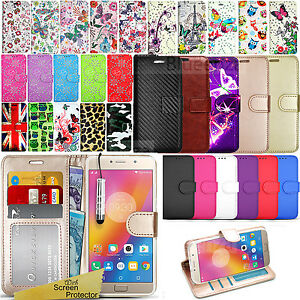 For-Lenovo-Mobile-Phones-Wallet-Leather-Case-Flip-Book-Cover-Screen-Protector