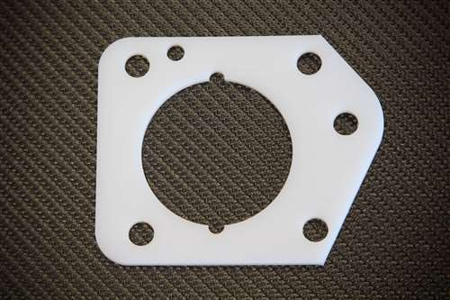 Torque Solution Thermal Throttle Body Gasket Fits Honda Civic LX DX EX R18 06-11