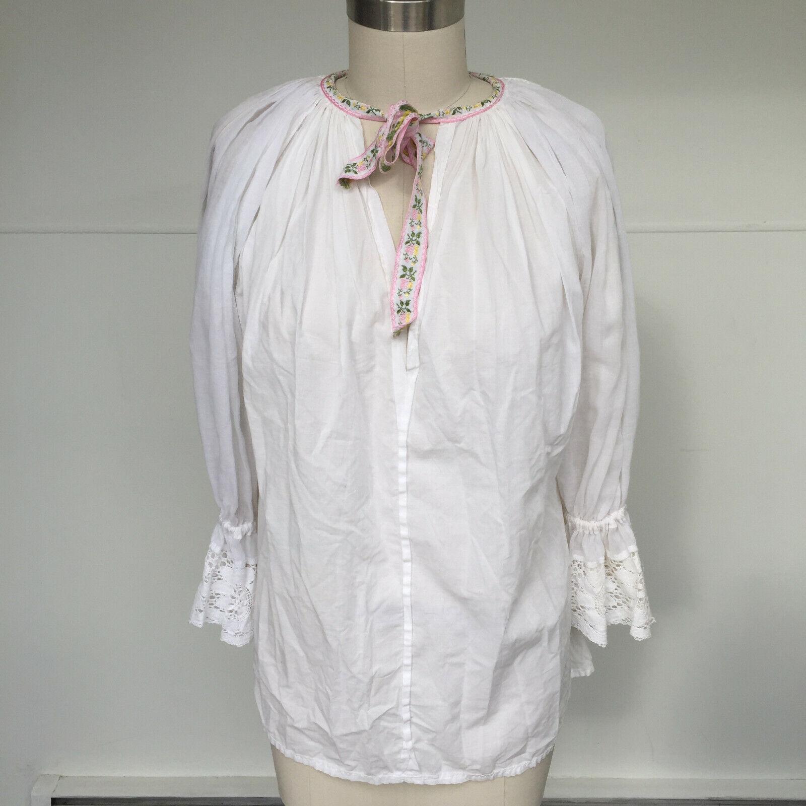 VTG 1970s Hungarian Handmade Textured Boho-Chic P… - image 1