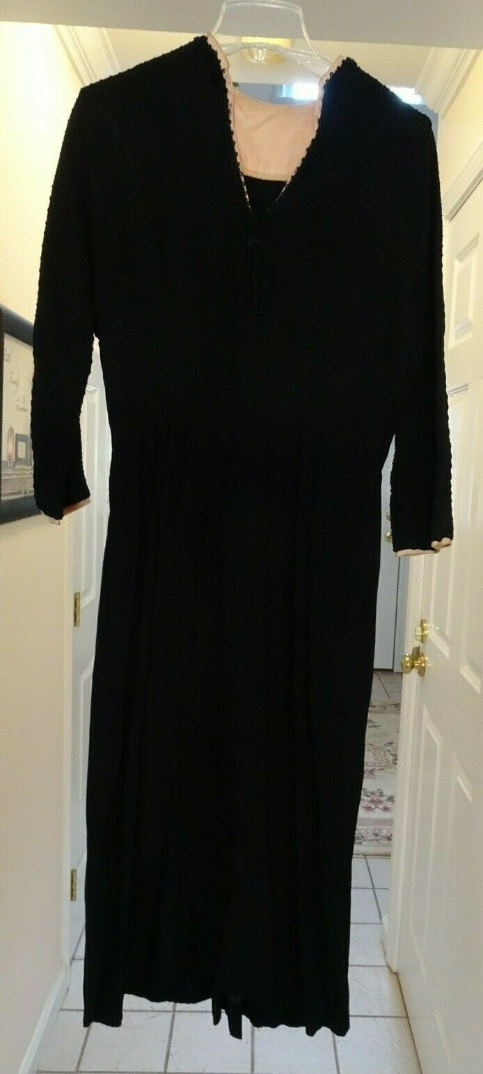 Vintage 40's Women's Dress, Sans Belt - image 1