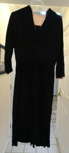 Vintage 40's Women's Dress, Sans Belt