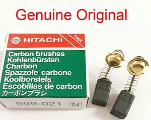 CARBON BRUSHES 4 HITACHI PDM125 PDP100C PDP115A PDS-100 PDS-115A PL8206 PSU4 E15