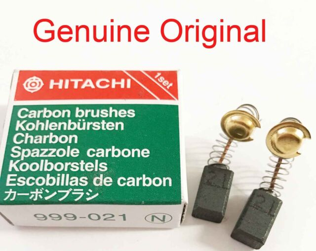 Genuine Hitachi CARBON BRUSHES 999021 FOR ANGLE GRINDER G12SR2 G12SS HT1G