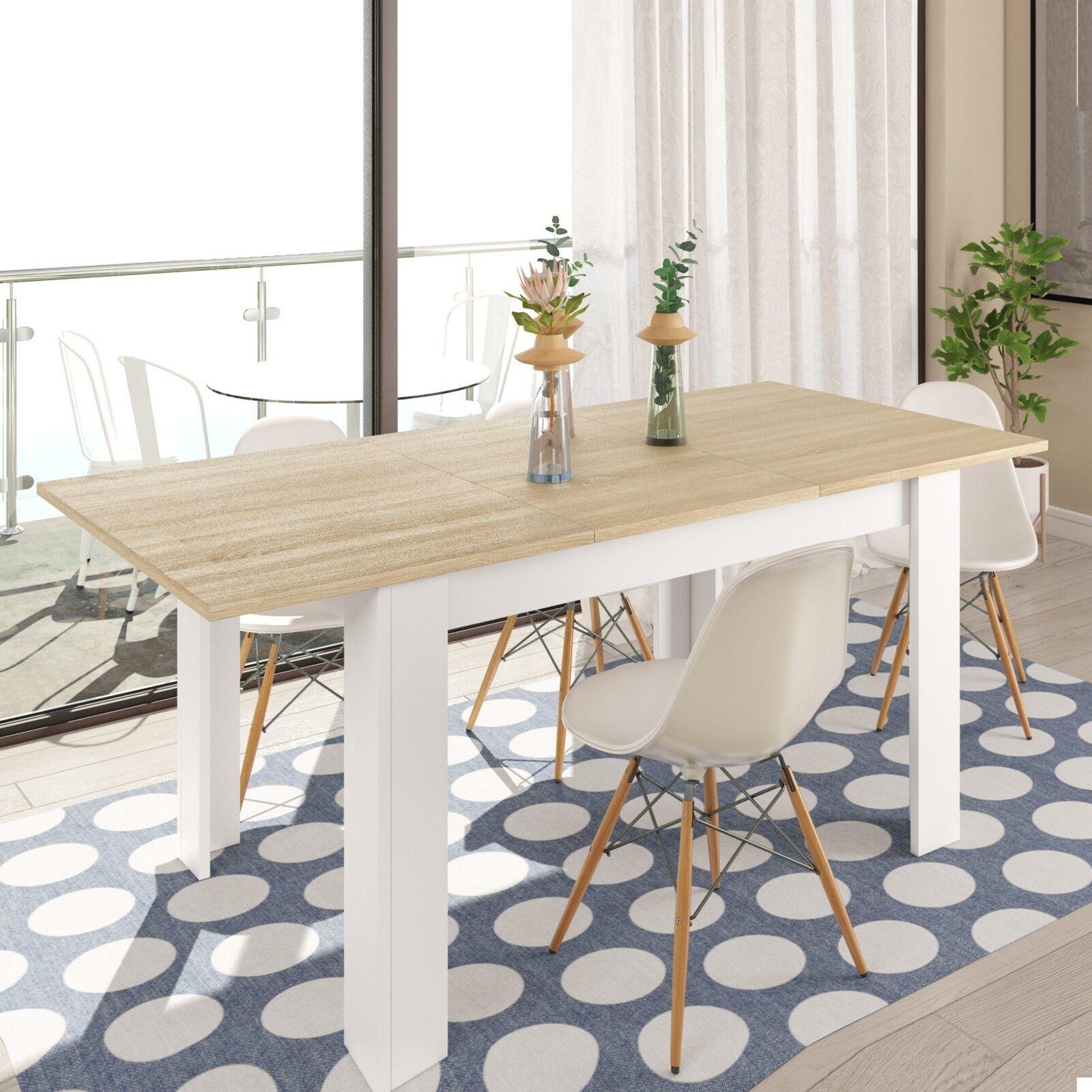 Mesa de comedor salón extensible – Flymazone.es