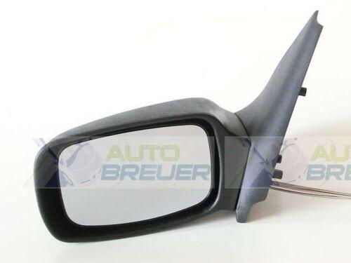 Außenspiegel Spiegel manuell schwarz konvex Links paßt für Ford Fiesta 4 BJ96-99