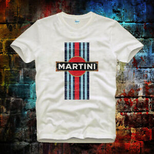 Martini-Racing-car-Vintage-tee-top-Retro-Unisex-Men-039-s-Ladies-T-Shirt-559b
