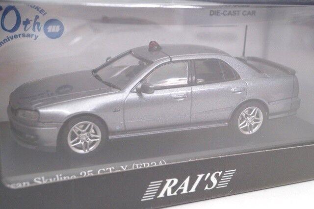 distribución global HL430001 horizonte RAI 1 1 1 43 25GT-X ER34 plata 2000 coche de policía Miyazawa Modelo  moda clasica
