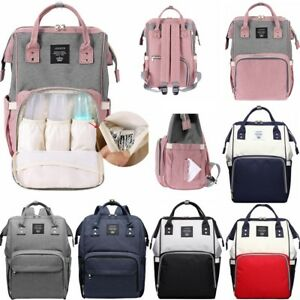 Image Is Loading Lequeen Mummy Maternity Ny Diaper Bag Large Capacity