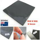 "Sorbothane Sorbo Sheet 3 X100 X100mm, 1/8"" X 4"" X 4"" Anti Vibration Pad Sheet"