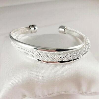 Superbe bracelet feuille tendance en argent sterling 925 pour filles et femmes