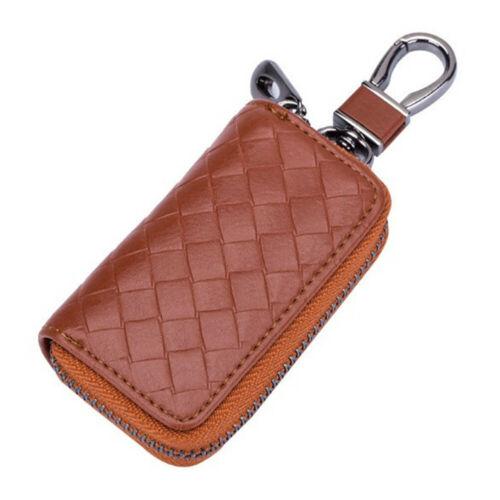 Women Men Key Wallet Crocodile Genuine Leather Car Remote Key Bag Case Holder N