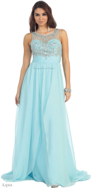 DESIGNER PROM SPECIAL OCCASION EVENING DRESS SIMPLE WEDDING GOWN FORMAL DANCE