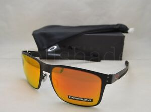 Oakley HOLBROOK METAL (OO4123-12 55) Matte Black with Prizm Ruby ... e80384d1e8