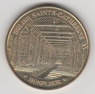 -- 2003 Coin Token Jeton Monnaie De Paris - 14 600 Eglise Ste Catherine Honfleur Dingen Geschikt Maken Voor De Mensen