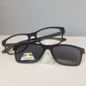 1042cc7d401 Image is loading RETRO-CLASSIC-BIFOCAL-SUNGLASSES-TINTED-READERS-POLARIZED -MAGNETIC-