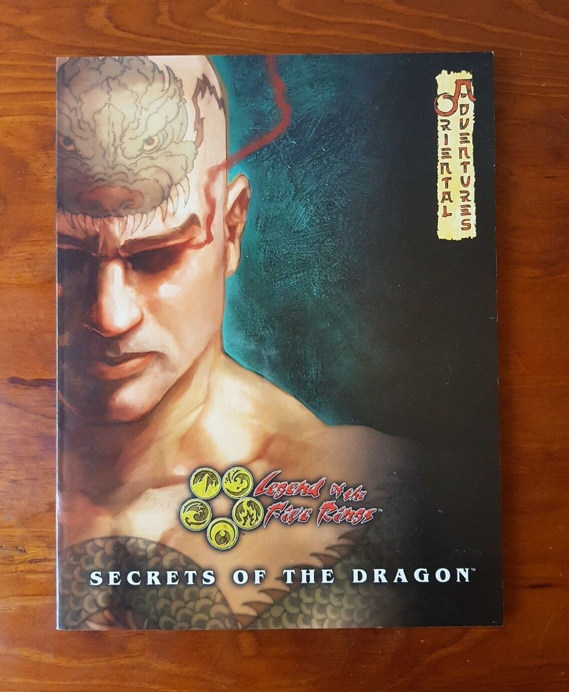 L5R Legend Of The Five Rings Secrets Of The Dragon Oriental Adventures RPG Book