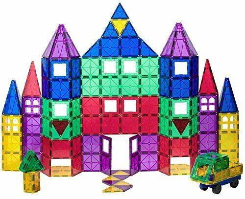 18 Piece Set Now with Stronger Magnets Sturdy,Super Durable wit Playmags 100