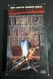 Turbulence-VHS-Tapes-1997-French-Version-OOP-cover-Ray-Liotta-Lauren-Holly