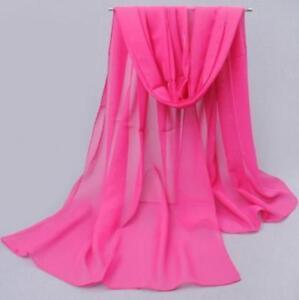 NEW-Fashion-Women-Long-Soft-Wrap-Lady-Shawl-Chiffon-Silk-Scarf-Scarves