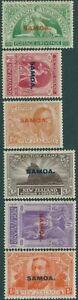 Samoa-1920-SG143-148-Victory-set-MLH
