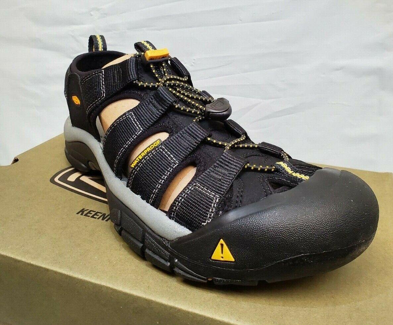 KEEN de plein air Homme 1001907 nouveauport H2-M Noir Lavable Randonnée Sandales Chaussures