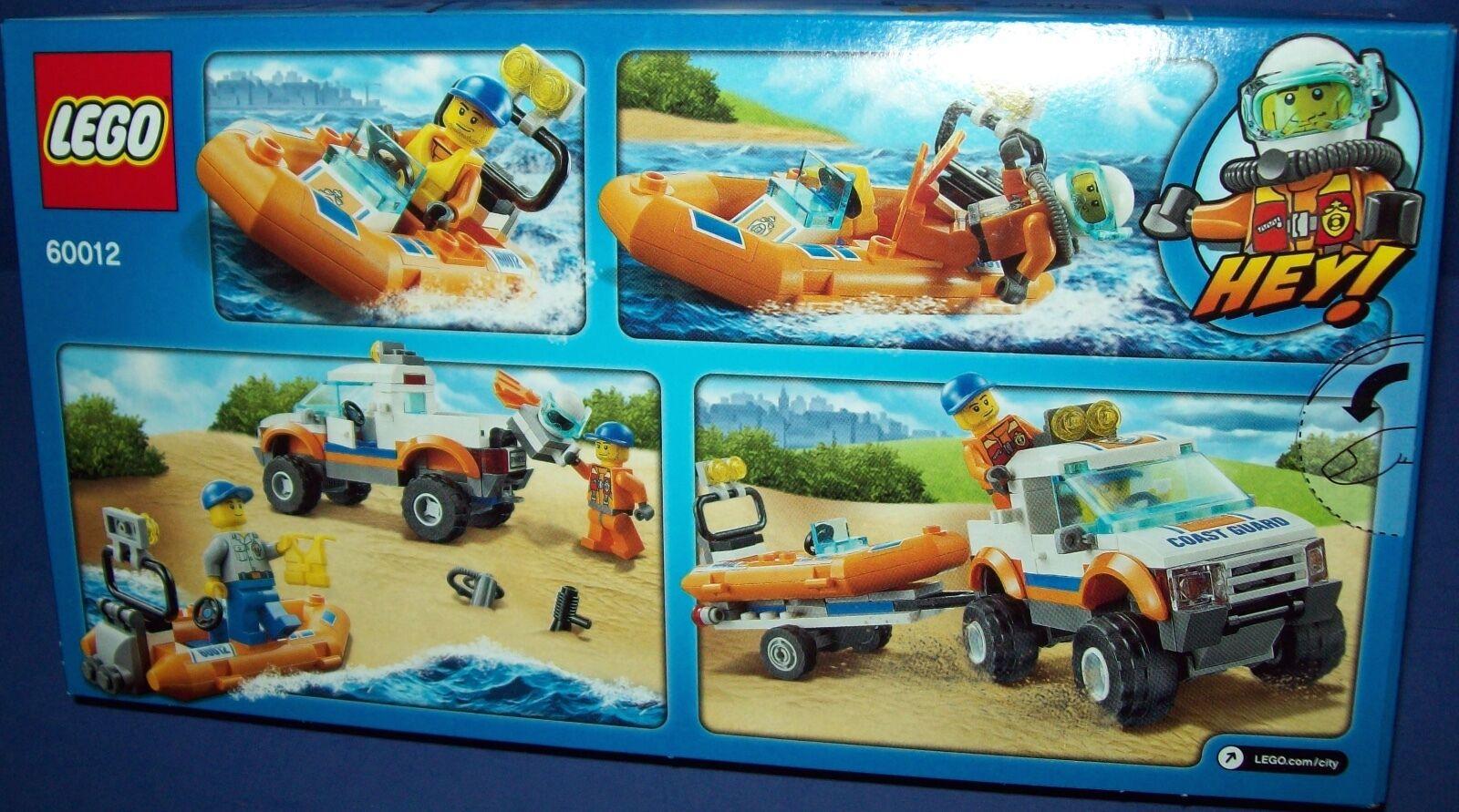 LEGO City 60012 4x4 & & & Diving Boat  NIB  Retired 0e227a