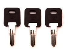 (3)Global Link RV Motorhome Travel Trailer Rubber Head Key Cut to Code G301-G350