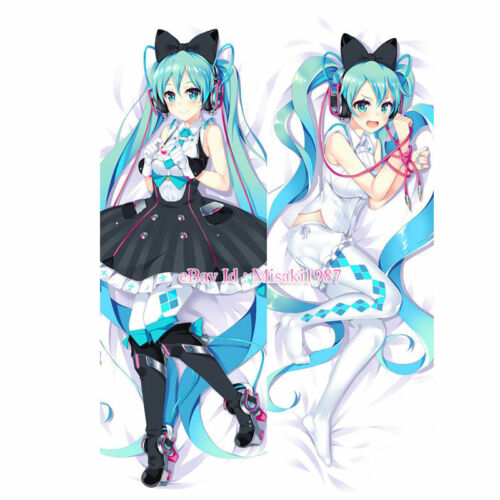 Vocaloid Dakimakura Magical Mirai Hatsune Miku Anime Hugging Body Pillow Case