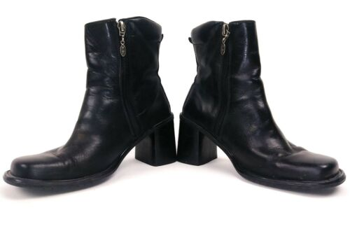 Harley Davidson Womens Ankle Motorcycle Boots Size