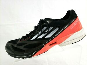 Details about Adidas Adizero Feather 2 Men's running Black Athletic SHOES SIZE US 12 EU 46 23
