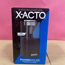 X Acto Powerhouse Electric Pencil Sharpener Black New Upc1713