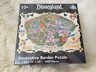 Disneyland Theme Park Exclusive Decorative Border Puzzle 1000 Pieces