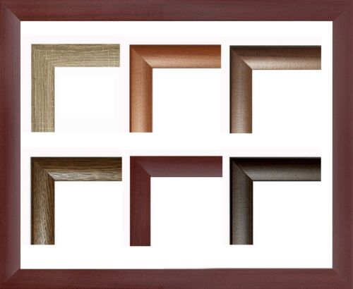 Pisa MDF-Bilderrahmen Holzdekor II von 30 x 80 bis 30 x 89 cm