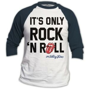 The-Rolling-Stones-Only-Rock-039-N-Roll-Official-Merchandise-T-Shirt-M-L-XL-NEU