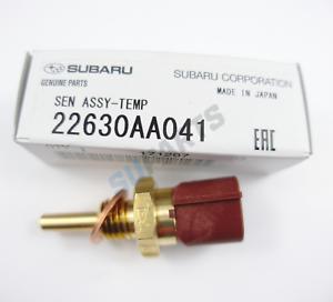 Sensor de temperatura de agua ECU Genuino 22630AA041 se adapta a Subaru Impreza Legacy