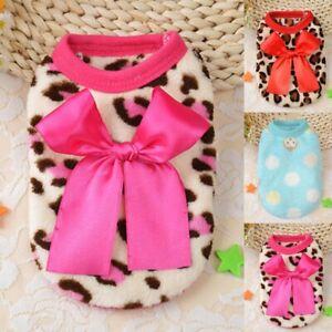 XXXS-XXS-Hundekleidung-Hundepullover-Welpen-Chihuahua-Winter-Mantel-Shirt-Jacke