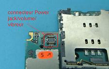 Remplacement connecteur 4 power jack iphone 3gs 3g micro soudure repair carte