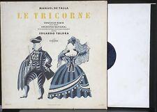De Falla Le Tricorne Consuelo Rubio Toldra Columbia France FCX 608 LP & CV EX